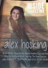 Cover story about promising young musician Alex Hosking by Libby Parker